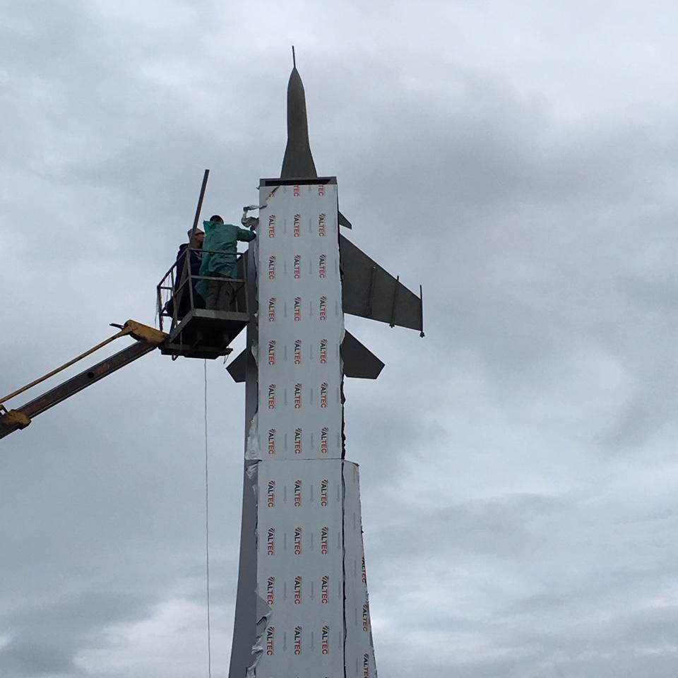 Декабрь 2015 г. 3.  «Реко» выполнило масштабные работы в Парке Патриот в Кубинке.
